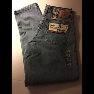 NWT Women's Levi's 550 Relaxed Tapered Jeans 14L